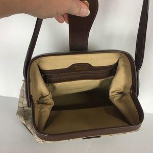 Bally Bags - Bally Hinged Bag Brown Signature Crossbody Purse